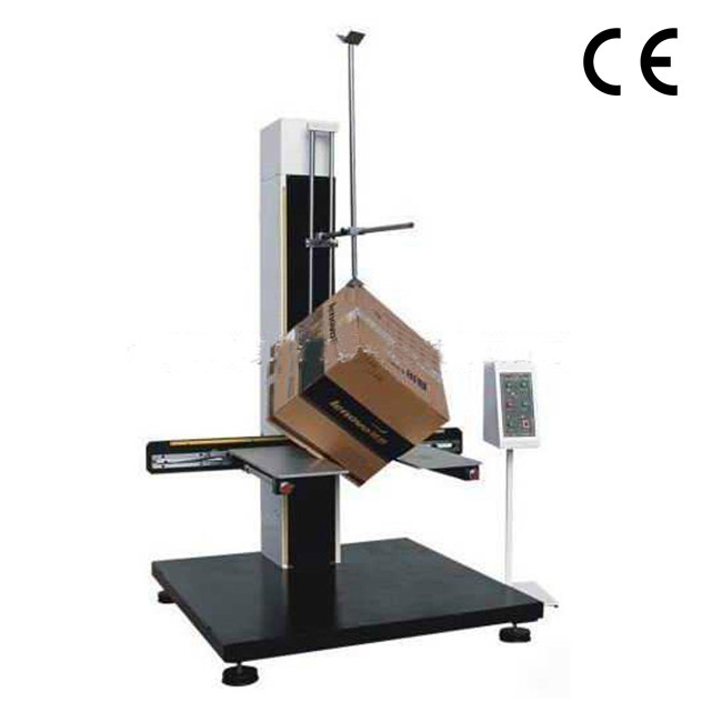 Two wings packing drop testing machine